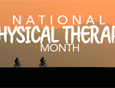 National Physical Therapy Month 2017