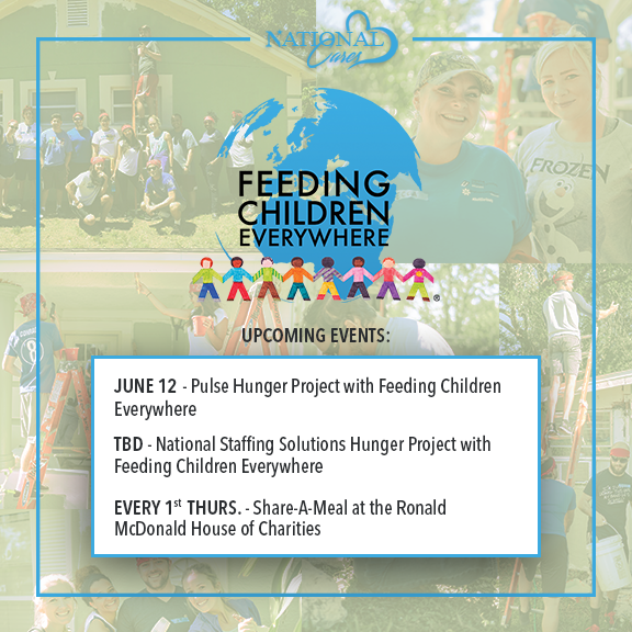National Cares Feeding Children Everywhere Banner Image