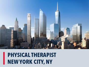 Physical Therapist Job in New York City, NY