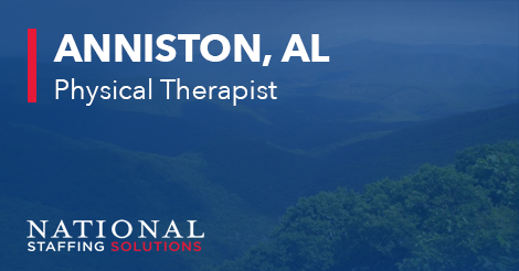 Physical Therapy Job in Anniston, Alabama Image
