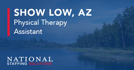 Physical Therapy Assistant Job in Show Low, Arizona Image