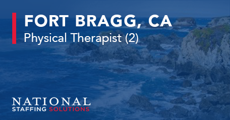 Physical Therapy Job in Fort Bragg, California Image