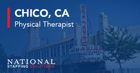 Physical Therapy Job in Chico, California Image