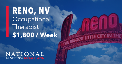 Occupational Therapy Job in Reno, Nevada Image