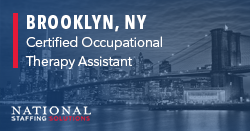 Certified Occupational Therapy Assistant Job in Brooklyn, New York Image