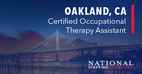 Certified Occupational Therapy Assistant Job in Oakland, CA Image