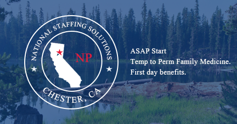 Nurse Practitioner Job in Chester, California Image