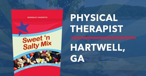 Physical Therapy Job for Hartwell, GA Image