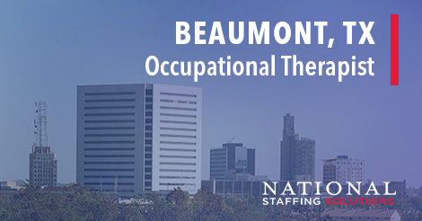 Occupational Therapy Job in Beaumont, Texas Image