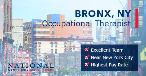 Occupational Therapy Job in Bronx, New York Image