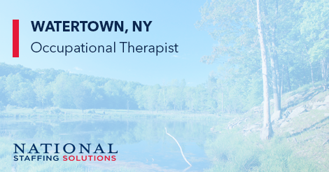 Occupational Therapy job in Watertown, New York Image