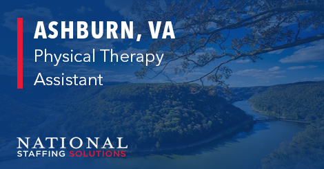 Physical Therapy Assistant job in Ashburn, Virginia IMage