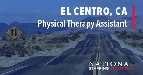 Physical Therapy Assistant Job in El Centro, California Image