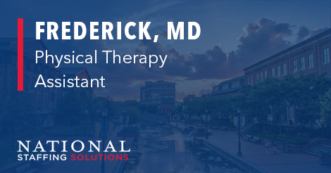 Physical Therapy Assistant Job in Frederick, Maryland Image