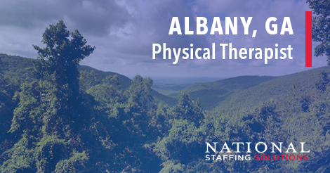 Physical Therapy Job in Albany, Georgia Image