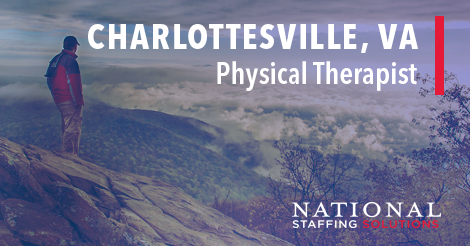 Physical Therapy Job Charlottesville, Virginia Image