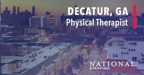 Physical Therapy Job in Decatur, Georgia Image