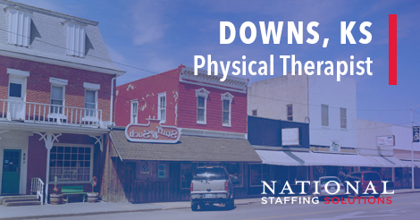 Physical Therapy Job in Downs, Kansas Job