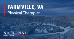 Physical Therapy Job in Farmville, Virginia Image