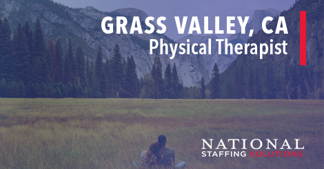 Physical Therapy Job in Grass Valley, California Image