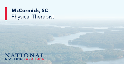 Physical Therapy Job in McCormick, South Carolina Image