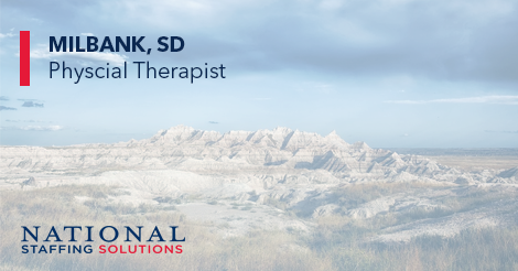 Physical Therapy Job in Milbank, South Dakota Image