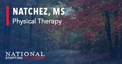 Physical Therapy Job in Natchez, Mississippi Image