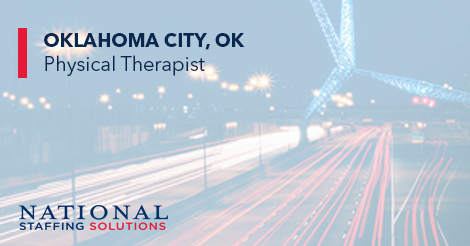 Physical Therapy Job in Oklahoma City, Oklahoma Image