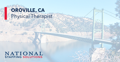 Physical Therapy Job in Oroville, California Image