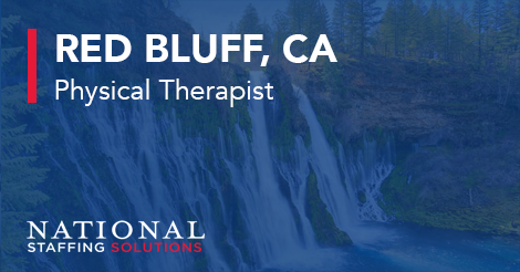 Physical Therapy job in Red Bluff, California Image