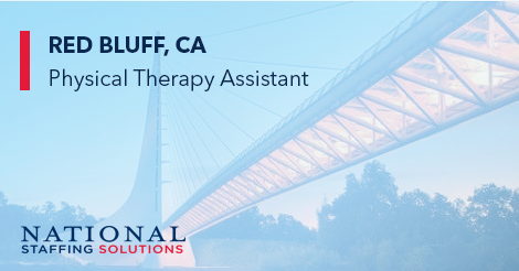 Physical Therapy Assistant Job in Red Bluff, California Image