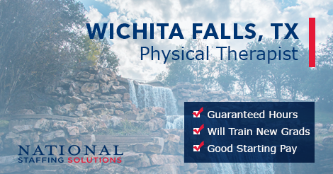 Physical Therapy Job in Wichita Falls, Texas Image