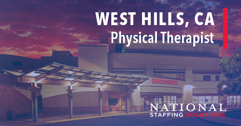 Physical Therapy Job in West Hills, California Image