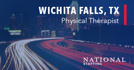 Physical Therapy Job in Wichita Falls, TX Image