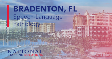Speech-Language Pathology Job in Bradenton, Florida Image