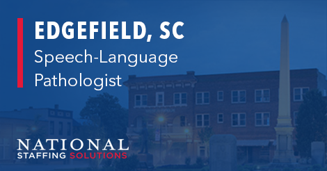 Speech-Language Pathology job in Edgefield, South Carolina Image