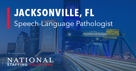 Speech-Language Pathology Job in Jacksonville, Florida Image
