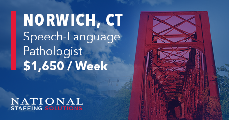 Speech-Language Pathology job in Norwich, Connecticut Image