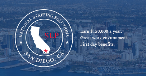Speech-Language Pathology Job in San Diego, California Image