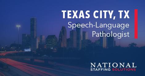 Speech-Language Pathology Job in Texas City, Texas Image